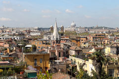 Roofs of Rome Royalty Free Stock Photography