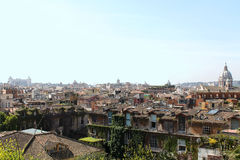 Roofs of Rome Royalty Free Stock Images