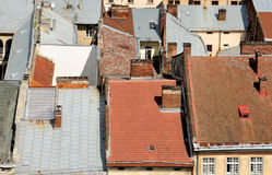 Roofs Royalty Free Stock Photo
