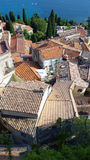 The Roofs of Roquebrune Cap Martin Royalty Free Stock Images