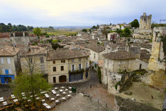Roofs of saint-emilion Royalty Free Stock Photo