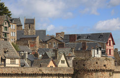 Roofs at Saint Michel royalty free stock images