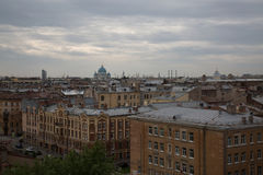 Roofs Saint Petersbourg Russia urban architecture Royalty Free Stock Photography