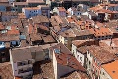 Roofs of Santo Domingo de la Calzada Stock Photography