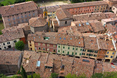 Roofs seen from above Stock Image