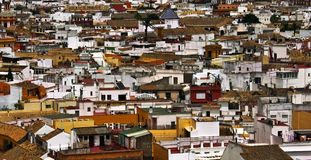 Roofs of Sevilla Royalty Free Stock Photos