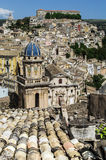 Roofs of Sicily. View of Ragusa, Sicily, Italy Stock Photos