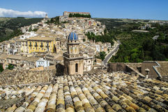 Roofs of Sicily Stock Images