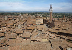 Roofs of Siena, Italy Stock Photo