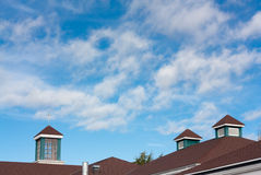 Roofs and sky Royalty Free Stock Image
