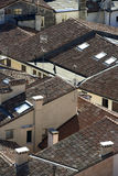 Roofs. Some roofs of some houses Stock Image