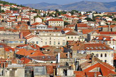 Roofs of Split Stock Images