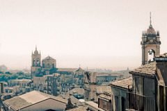 Roofs and Steeples Stock Images