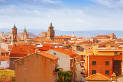 Roofs of Teruel Stock Photos