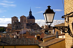 Roofs of Toledo Stock Photography