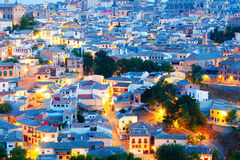Roofs of Toledo in early morning Stock Image
