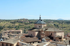 Roofs of Toledo, Spain Royalty Free Stock Photos