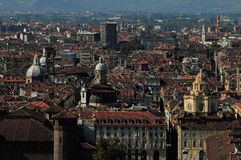 Roofs of Torino Royalty Free Stock Photography