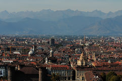 Roofs of Torino Stock Image