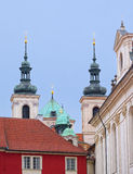 Roofs and towers of Prague, Czech Republic Stock Image