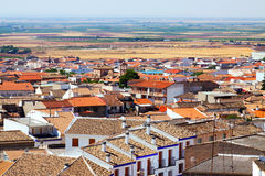 Roofs of town in La Mancha region Royalty Free Stock Photography