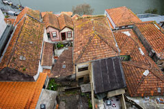 Roofs of Traditional Portuguese Houses Stock Photo