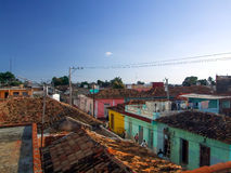 Roofs in Trinidad Stock Images