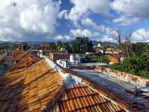 Roofs in Trinidad Royalty Free Stock Image