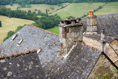 Roofs of Turenne Stock Photography