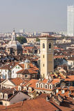 The roofs of Turin, Italy Royalty Free Stock Photos