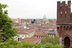 Roofs of Udine, Italy Stock Photos