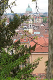 Roofs of Udine, Italy Royalty Free Stock Images