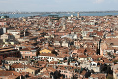 Roofs of Venice Royalty Free Stock Photos