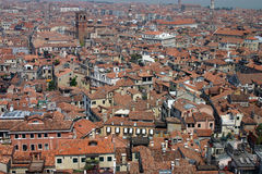 Rooftops of Venice  Royalty Free Stock Images