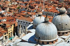 Roofs of Venice Stock Photos