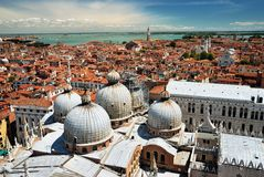 Roofs of Venice Stock Image