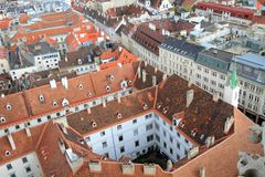 Roofs of Vienna Royalty Free Stock Photography