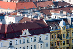 Roofs of Vienna. Royalty Free Stock Photo
