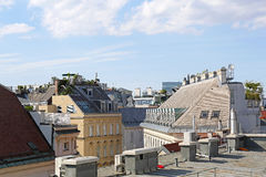 Roofs Vienna Royalty Free Stock Photo