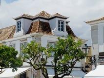 Roofs. Vila Real de Santo Antonio. Algarve, Portugal. Royalty Free Stock Image