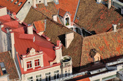 Roofs of Vilnius Royalty Free Stock Photo