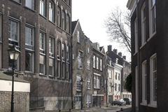 Roofs of vintage buildings in Rotterdam Stock Photos