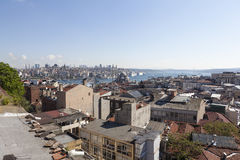 On the roofs of Walid Khan. Istanbul. Turkey. Royalty Free Stock Image