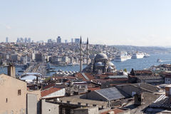 On the roofs of Walid Khan. Istanbul. Turkey. Royalty Free Stock Images