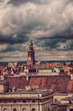 The roofs of Wroc�aw (Poland) Royalty Free Stock Image