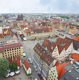 The roofs of Wroclaw Royalty Free Stock Images
