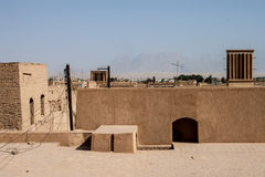 Roofs of Yazd Royalty Free Stock Photos