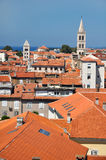 Roofs of Zadar Stock Photo