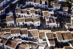 Roofs in Zahara Stock Photo