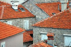 roofscape Obrazy Royalty Free
